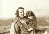Karásek with his daughter