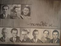 Students of grammar scholl in Roudnice nad Labem tortured to death in concentration camps