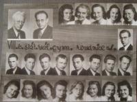seventh year students in grammar school Roudnice nad Labem