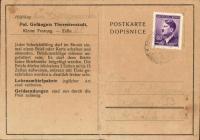 Postcards sent to Lidmila