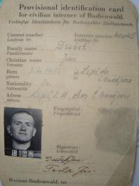 Vězeň v Buchenwaldu