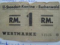 Známka z buchenwaldu