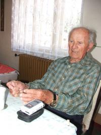 Jiří Boháč during the recording