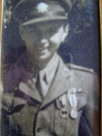 Josef Burger in 1945