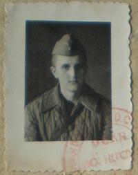 Ervín Páleš in 1951
