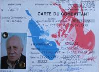 Combatant Card