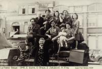 La Panne, Belgium, 1945