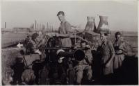 Defending rafinery in Haifa, summer 1942