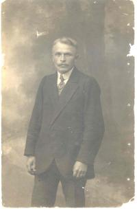 František Wiendl father in Russian captive 1917
