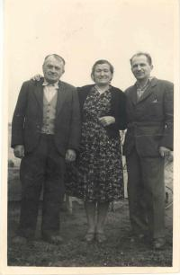 Wiendl family, after release 1960