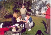 Birthday party František Wiendl's granddaughter, 2005