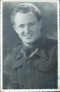 Walter Zimmermann v roce 1944 - Lille