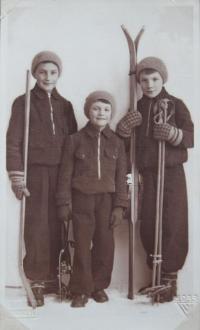 Brothers Jaromír, Theodor and Miroslav Kubík