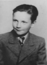 Kubík Miroslav -  a short time before Gestapo arrest