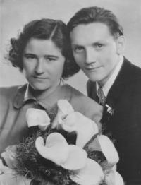 MK with his wife Věra