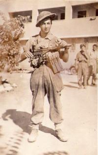 In israel army, 1948