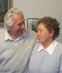 M. Spáčil with his wife Dagmar in 2009