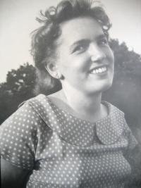 Wife Dagmar in 50's