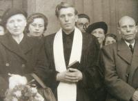M. Spáčil ordained priest in 1952