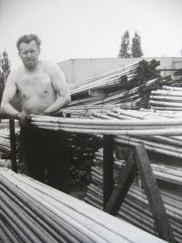 M. Spáčil as a worker
