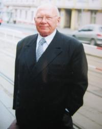 Špak in Prague in 2002