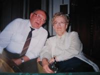 Špak with his wife in 2005