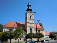 Dnešní podoba kostela sv. Vavřince
