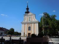 Dnešní podoba kostela sv. Vavřince, zadní část