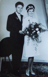 RNDr Rudolf Jiříček s manželkou