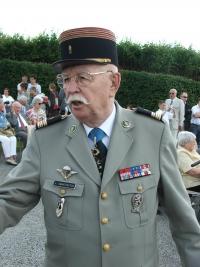 Valérien Ignatovich in Darney, June 2008