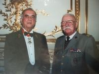 Legion of Honor to Karel Pezl - Paris