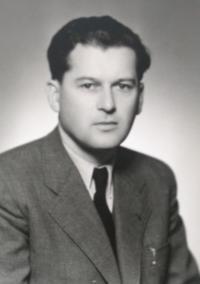 Imrich Gablech v roce 1947