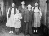 family Martaks 1950