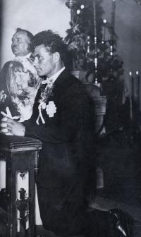 wedding of Katerina Romanak