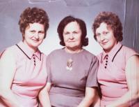 from left: Marie Malčovská, Terezie Marťáková, Kateřina Romaňáková