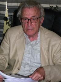 Pavel Oliva in 2009 during recording