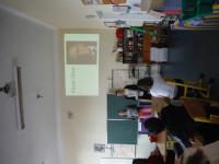 Presentation of the story of Pavel Oliva by the students from the project Stories of our neighbours