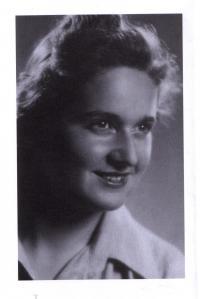 Eva Roubičkova roz. Mändel krátce po válce