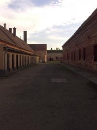 Women's courtyard in Terezín