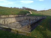 Swimming pool in Terezín built by the Roudnice high school students
