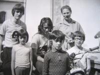 Z. Schubertová with children