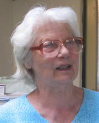 Z. Schubertová during the interview in 2009
