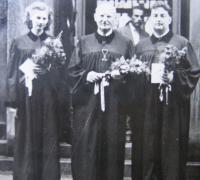 Ordination of Zdenka Schubertová as a pastor