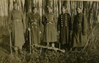 group of soldiers - former members of Blaník resistance organization