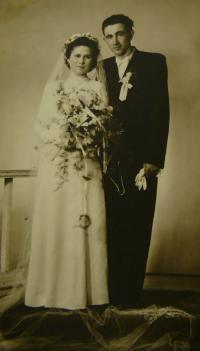 wedding photo of V.K.