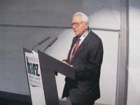 Při přednášce o česko-německých vztazích na vysoké škole ve Wernigerode