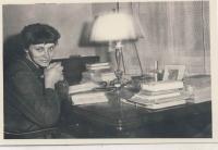 Dana Němcová cca 1957