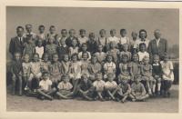 School photography, 1941-42