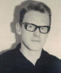 Jaromír Dus, portrait, Prague 1956