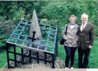 Anna and Jaromír Dus, Monument 1938 - 1989, Polička about 2015